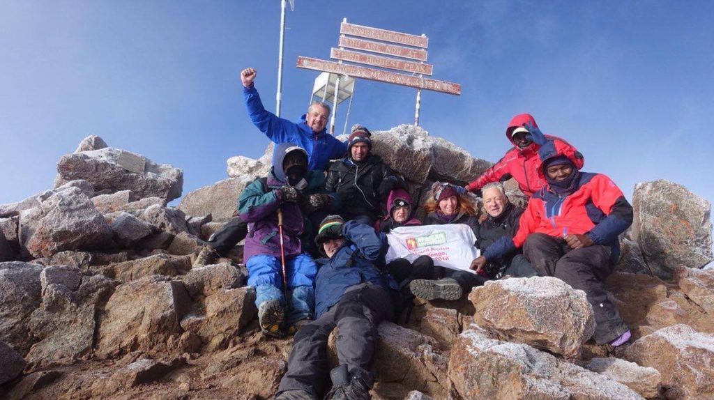 African Adventures Foundation - Fundraising Events - Mount Kenya Charity Challenge