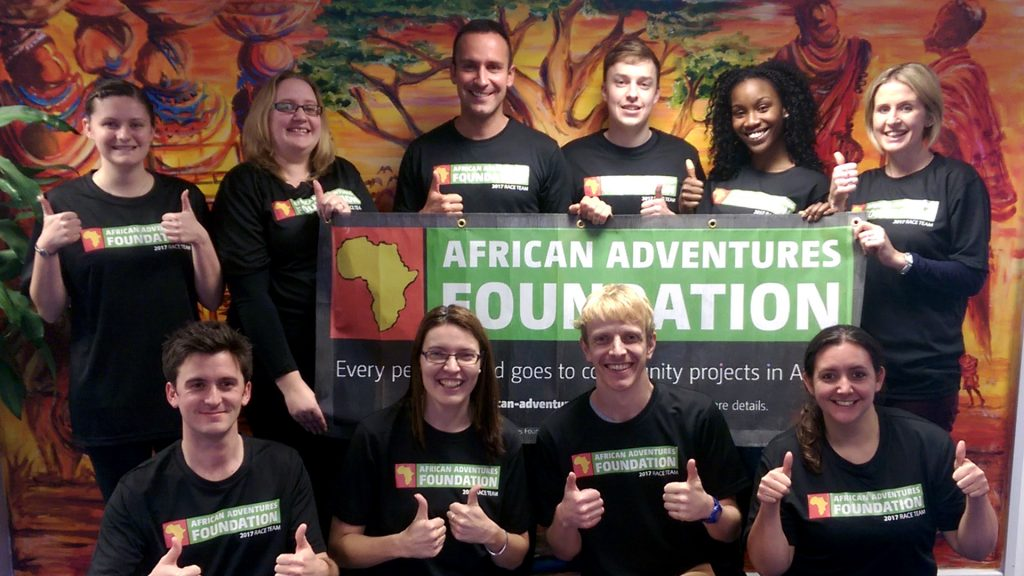 African Adventures Foundation - Fundraising Events - Race Team